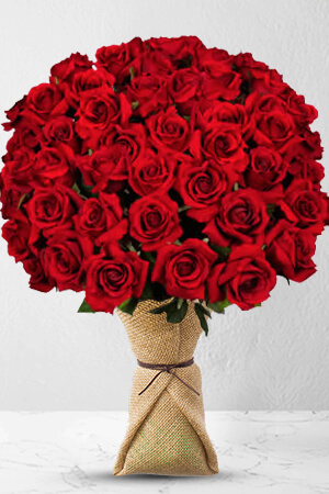 48 Long Stem Premium Rose Bouquet